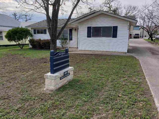 604 Ave G, Marble Falls, TX 78654 (#150833) :: Realty Executives - Town & Country