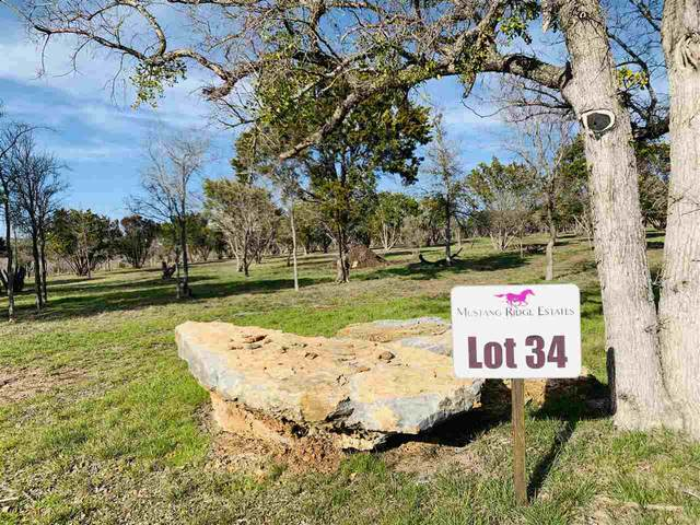 Lot 34 Trophy Oak Trail Trail, Marble Falls, TX 78654 (#151160) :: Zina & Co. Real Estate