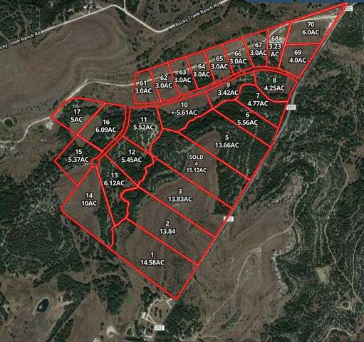 Tract 64 Cr 202, Lake Victor, TX 76550 (#151782) :: Realty Executives - Town & Country