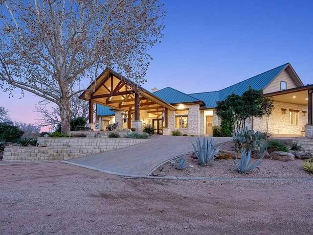 1455 Cimarron Ranch Road, Marble Falls, TX 78654 (MLS #154645) :: The Curtis Team