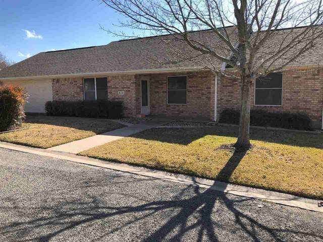 810 Cottonwood Drive, Burnet, TX 78611 (#154648) :: Realty Executives - Town & Country