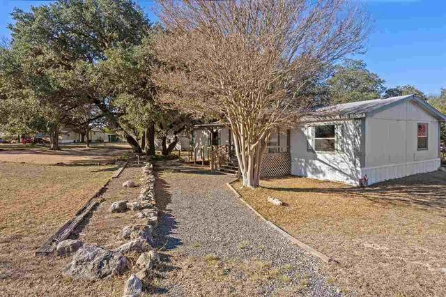 105 Moss Rock Drive, Johnson City, TX 78636 (#154665) :: Realty Executives - Town & Country