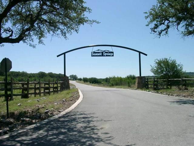 Lot 88 Bosque Trail, Marble Falls, TX 78654 (MLS #155388) :: The Curtis Team