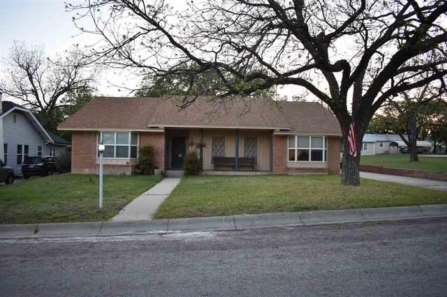 206 Spring St S, Lampasas, TX 76550 (#155530) :: Realty Executives - Town & Country