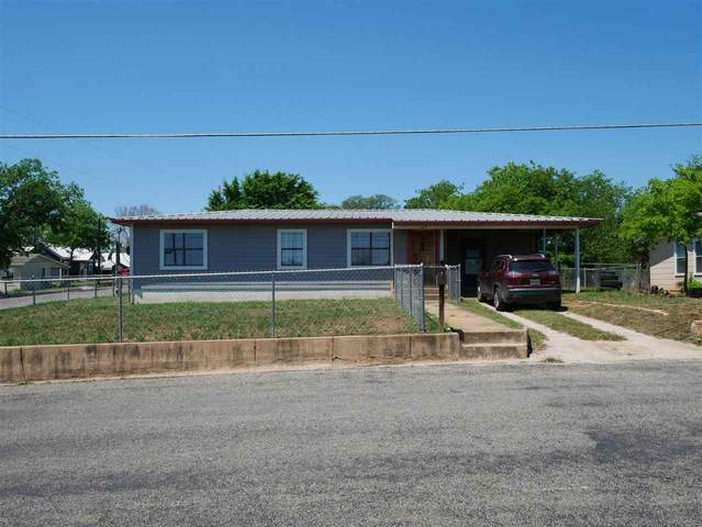 1109 Flag Street, Llano, TX 78643 (MLS #155722) :: The Curtis Team