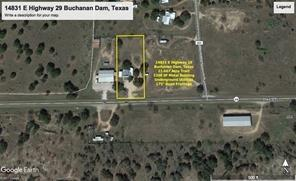 14831 E Hwy 29, Buchanan Dam, TX 78609 (#141804) :: The ZinaSells Group