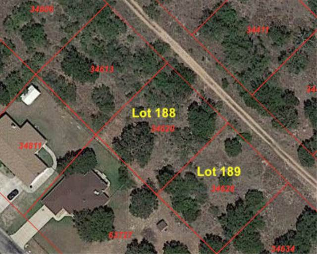 Lots 188-189 Longmont, Kingsland, TX 78639 (#150797) :: Zina & Co. Real Estate