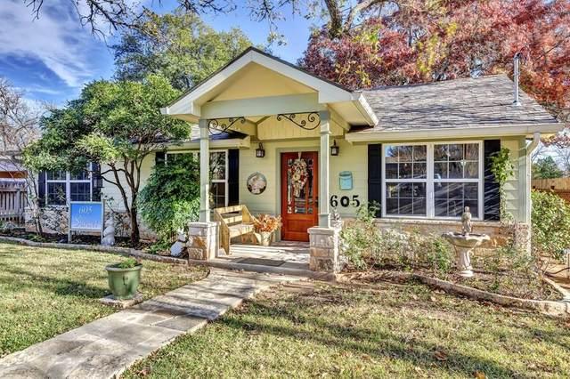 605 -- Sunset St, Fredericksburg, TX 78624 (MLS #81217) :: Reata Ranch Realty