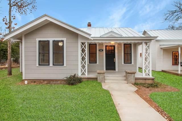 606 W Travis St, Fredericksburg, TX 78624 (MLS #81308) :: Reata Ranch Realty