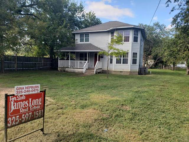 203 -- Mulberry St, Brady, TX 76825 (MLS #83044) :: Reata Ranch Realty