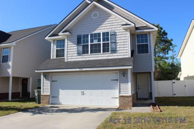 610 Amhearst Row, Hinesville, GA 31313 (MLS #130902) :: Coldwell Banker Holtzman, Realtors