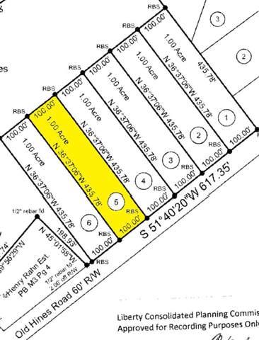 Lot 5 Old Hines Road, Flemington, GA 31313 (MLS #132670) :: Coldwell Banker Southern Coast