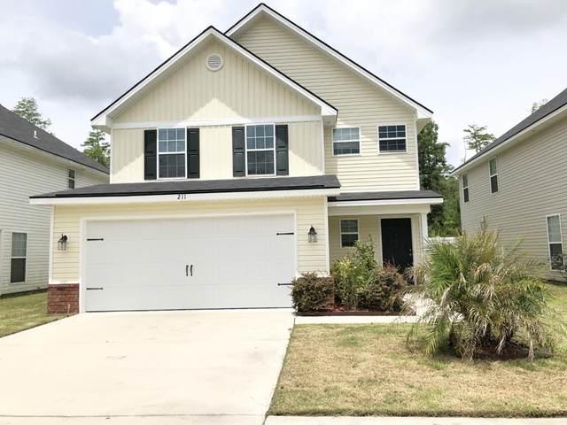 211 Grandview Drive, Hinesville, GA 31313 (MLS #134672) :: Coldwell Banker Southern Coast