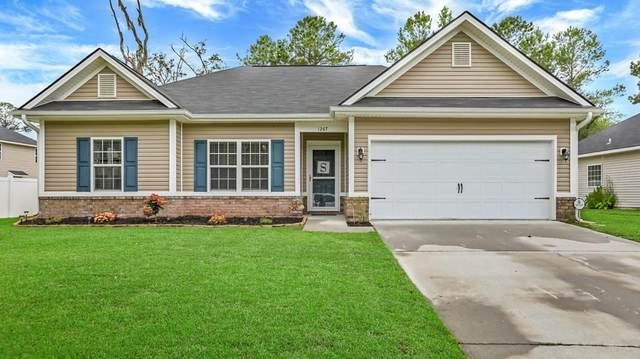1267 Peacock Trail, Hinesville, GA 31313 (MLS #134709) :: Coldwell Banker Southern Coast