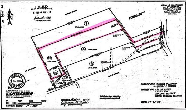 631 Penholloway Road, Jesup, GA 31546 (MLS #135392) :: Level Ten Real Estate Group