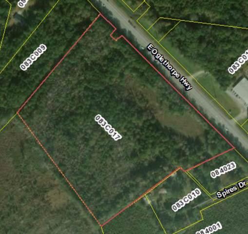 0 East Oglethorpe Highway, Flemington, GA 31313 (MLS #132486) :: Coldwell Banker Holtzman, Realtors