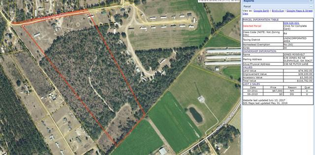 38 Futch Lane Ne, Glennville, GA 30427 (MLS #124447) :: The Arlow Real Estate Group
