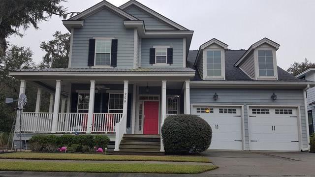 208 Village Drive, Midway, GA 31320 (MLS #125605) :: Coldwell Banker Holtzman, Realtors