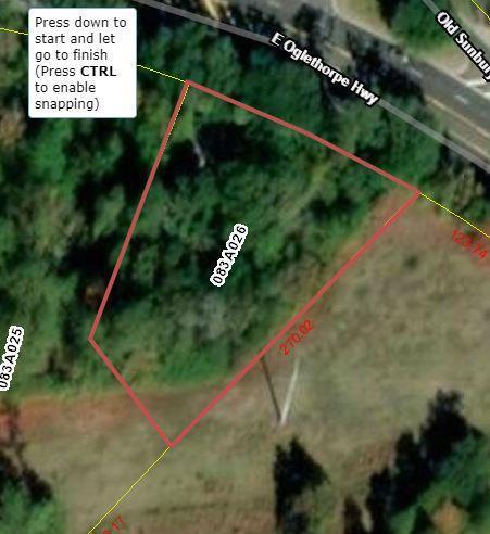 0 East Oglethorpe Highway, Flemington, GA 31313 (MLS #129923) :: Coldwell Banker Holtzman, Realtors
