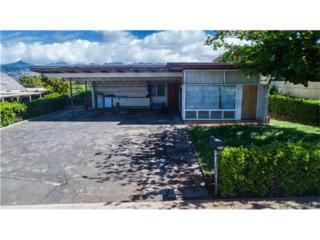 4126 Papu Circle, Honolulu, HI 96816 (MLS #201705388) :: The Ihara Team