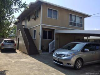 1021A 6th Avenue, Honolulu, HI 96816 (MLS #201705600) :: The Ihara Team