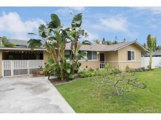 825 Kaipii Street, Kailua, HI 96734 (MLS #201706174) :: The Ihara Team