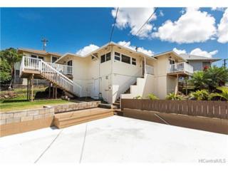 2118 Makanani Drive, Honolulu, HI 96817 (MLS #201707959) :: The Ihara Team