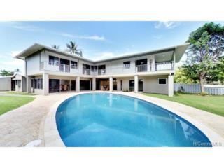 729 Wanaao Place, Kailua, HI 96734 (MLS #201708706) :: Team Lally
