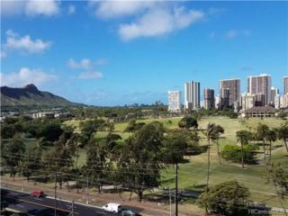 2916 Date Street 10G, Honolulu, HI 96816 (MLS #201711392) :: The Ihara Team