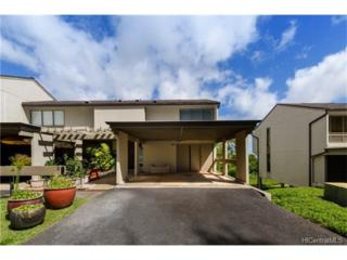 99-1440 Aiea Heights Drive #6, Aiea, HI 96701 (MLS #201711650) :: Keller Williams Honolulu