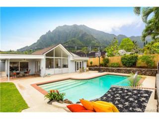 46-457 Kuneki Street, Kaneohe, HI 96744 (MLS #201706102) :: The Ihara Team