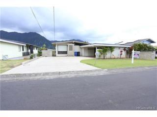 45-137 Popoki Street, Kaneohe, HI 96744 (MLS #201711873) :: The Ihara Team