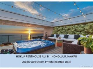 1288 Ala Moana Boulevard Ph-B, Honolulu, HI 96814 (MLS #201604435) :: The Ihara Team