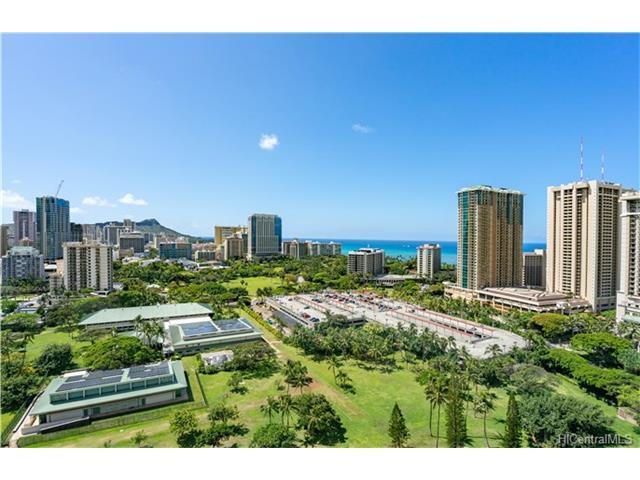 1920 Ala Moana Boulevard Ph2201, Honolulu, HI 96815 (MLS #201709761) :: The Ihara Team