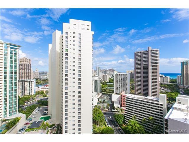 400 Hobron Lane #2607, Honolulu, HI 96815 (MLS #201716887) :: Elite Pacific Properties