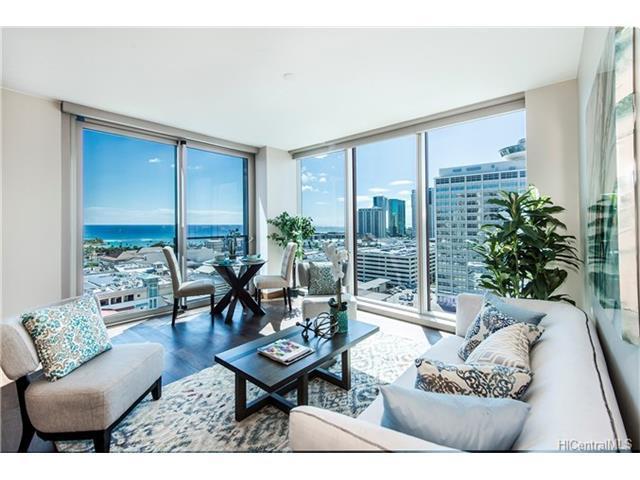 1555 Kapiolani Boulevard #1609, Honolulu, HI 96814 (MLS #201717809) :: Elite Pacific Properties