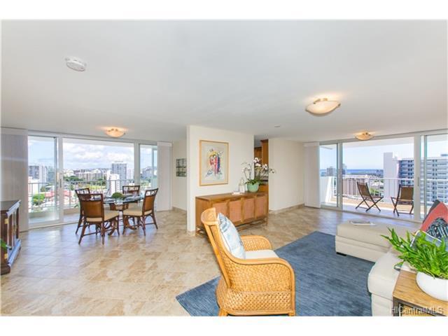 1130 Wilder Avenue #1701, Honolulu, HI 96822 (MLS #201717833) :: Elite Pacific Properties