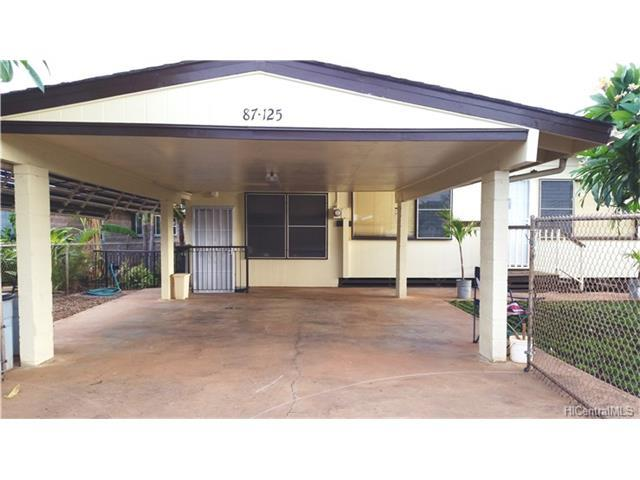 87-125 Palani Street, Waianae, HI 96792 (MLS #201717890) :: PEMCO Realty