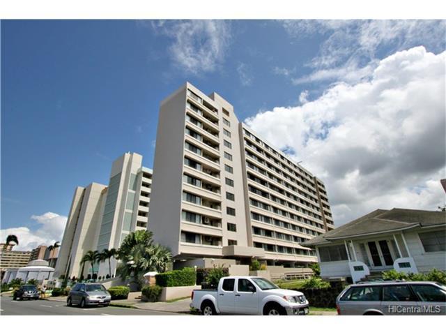 1134 Kinau Street #506, Honolulu, HI 96814 (MLS #201717996) :: PEMCO Realty