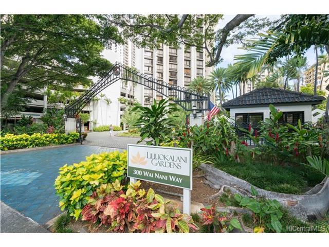 300 Wai Nani Way #1017, Honolulu, HI 96815 (MLS #201719441) :: The Ihara Team
