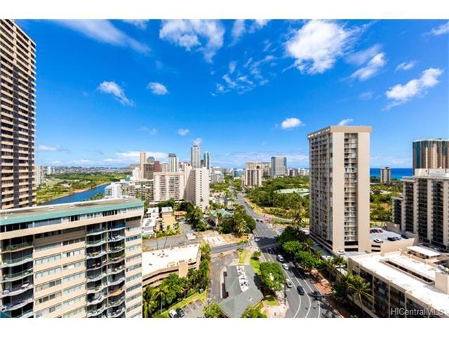 1888 Kalakaua Avenue #2305, Honolulu, HI 96815 (MLS #201720192) :: Team Lally