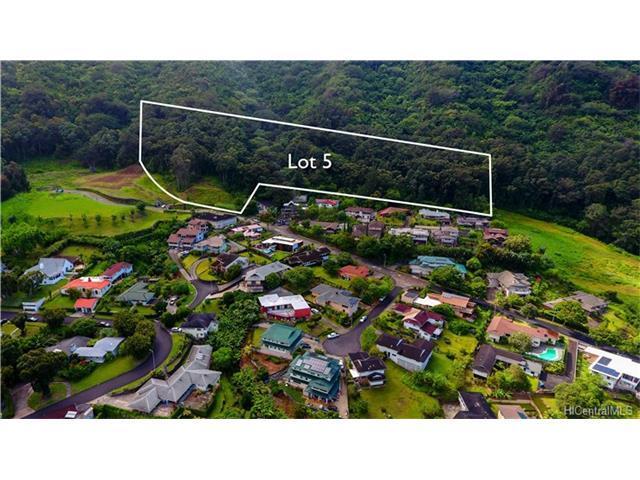Lot 5 Kamaaina Drive, Honolulu, HI 96817 (MLS #201721550) :: The Ihara Team