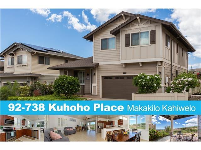 92-738 Kuhoho Place, Kapolei, HI 96707 (MLS #201721609) :: PEMCO Realty