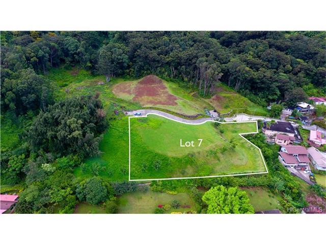 Lot 7 Kamaaina Drive, Honolulu, HI 96817 (MLS #201721748) :: The Ihara Team