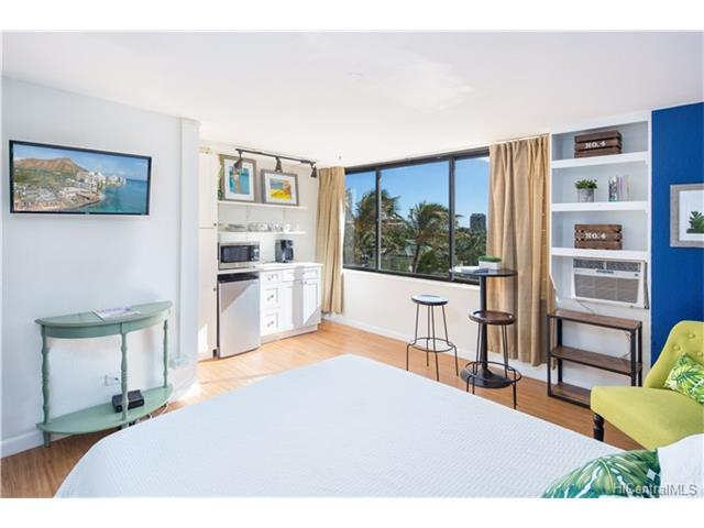 444 Niu Street #805, Honolulu, HI 96815 (MLS #201721970) :: Elite Pacific Properties