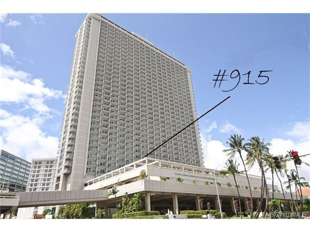 410 Atkinson Drive #915, Honolulu, HI 96814 (MLS #201722087) :: Elite Pacific Properties