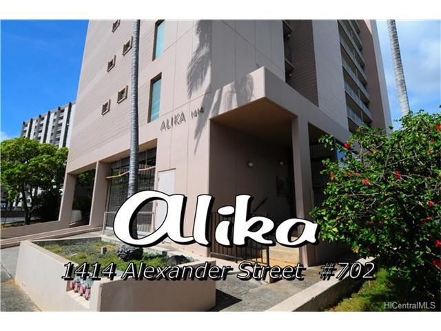 1414 Alexander Street #702, Honolulu, HI 96822 (MLS #201722100) :: PEMCO Realty