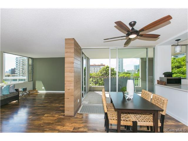 1521 Punahou Street #602, Honolulu, HI 96822 (MLS #201724039) :: The Ihara Team