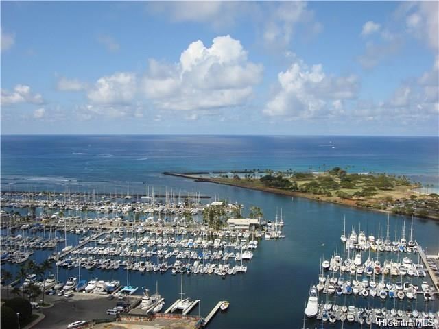1650 Ala Moana Boulevard #3405, Honolulu, HI 96815 (MLS #201724582) :: Team Lally