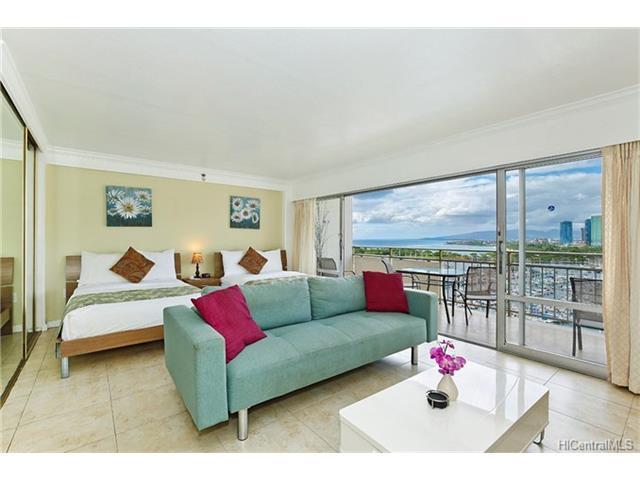 1777 Ala Moana Boulevard #1441, Honolulu, HI 96815 (MLS #201725792) :: Elite Pacific Properties